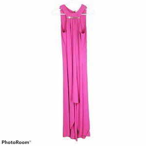 $169 Michael Kors Jersey Bright Pink Maxi Dress